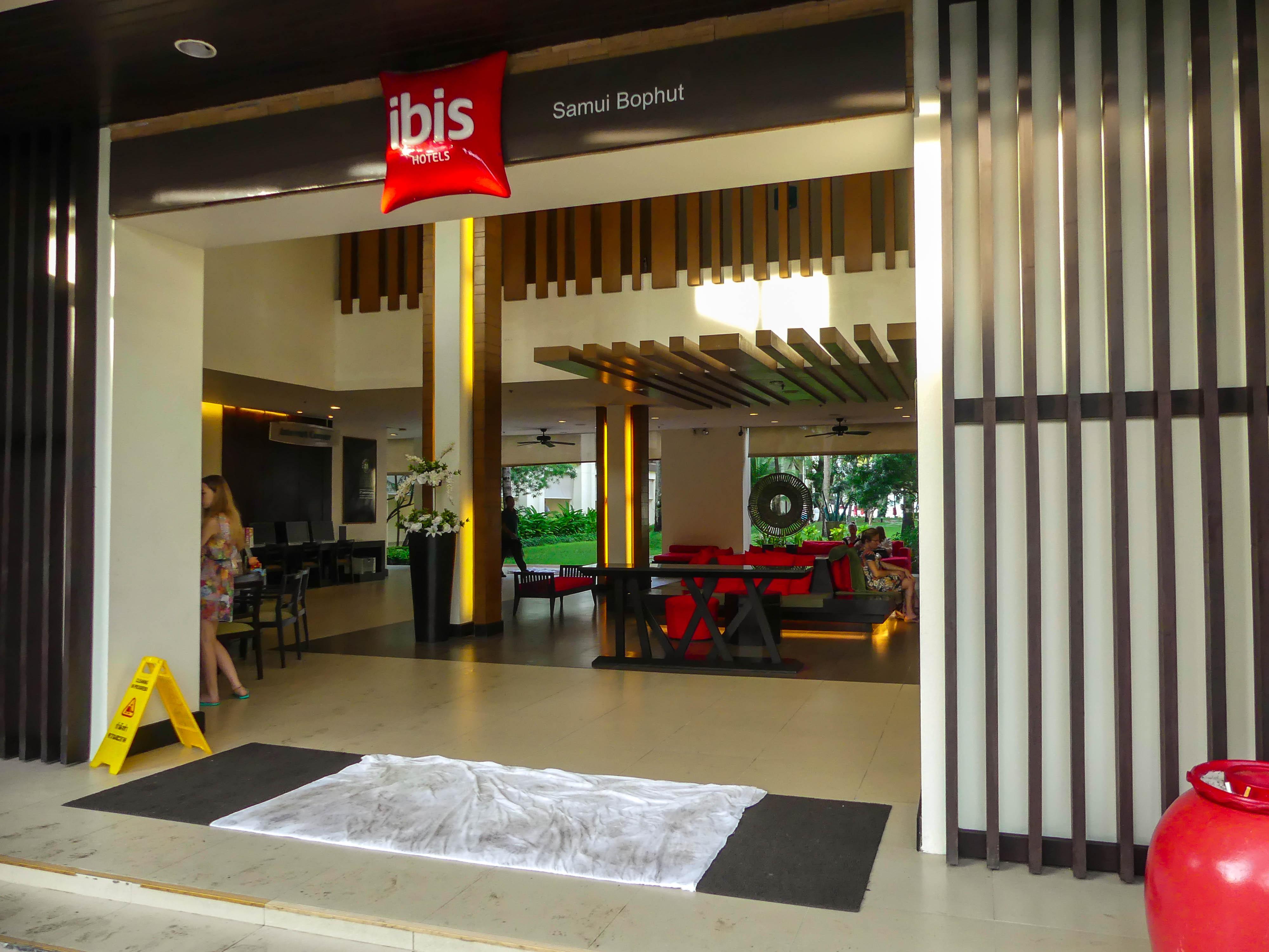 Koh Samui Ibis Bophut Eingang