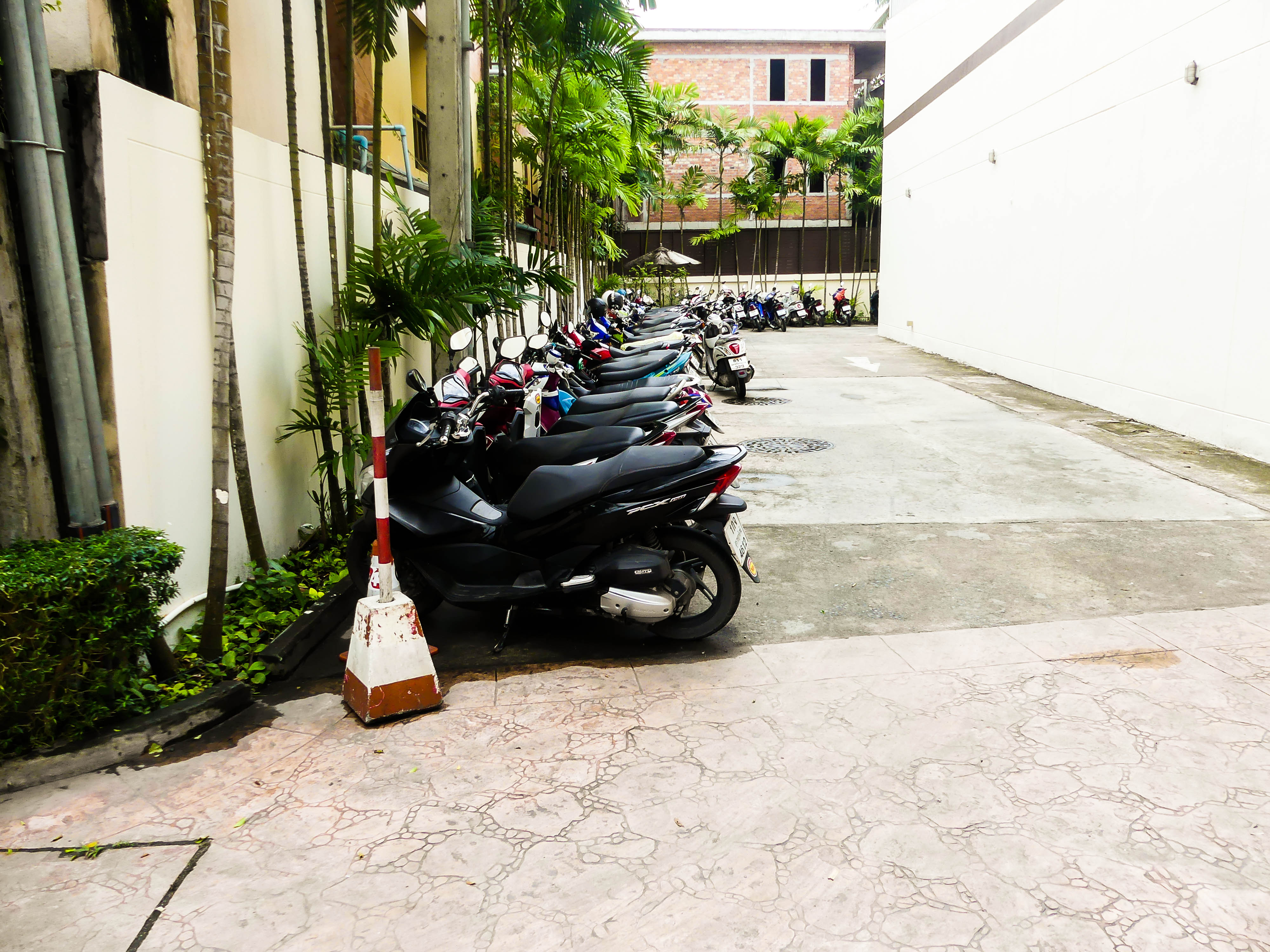 Mietroller des Hotels