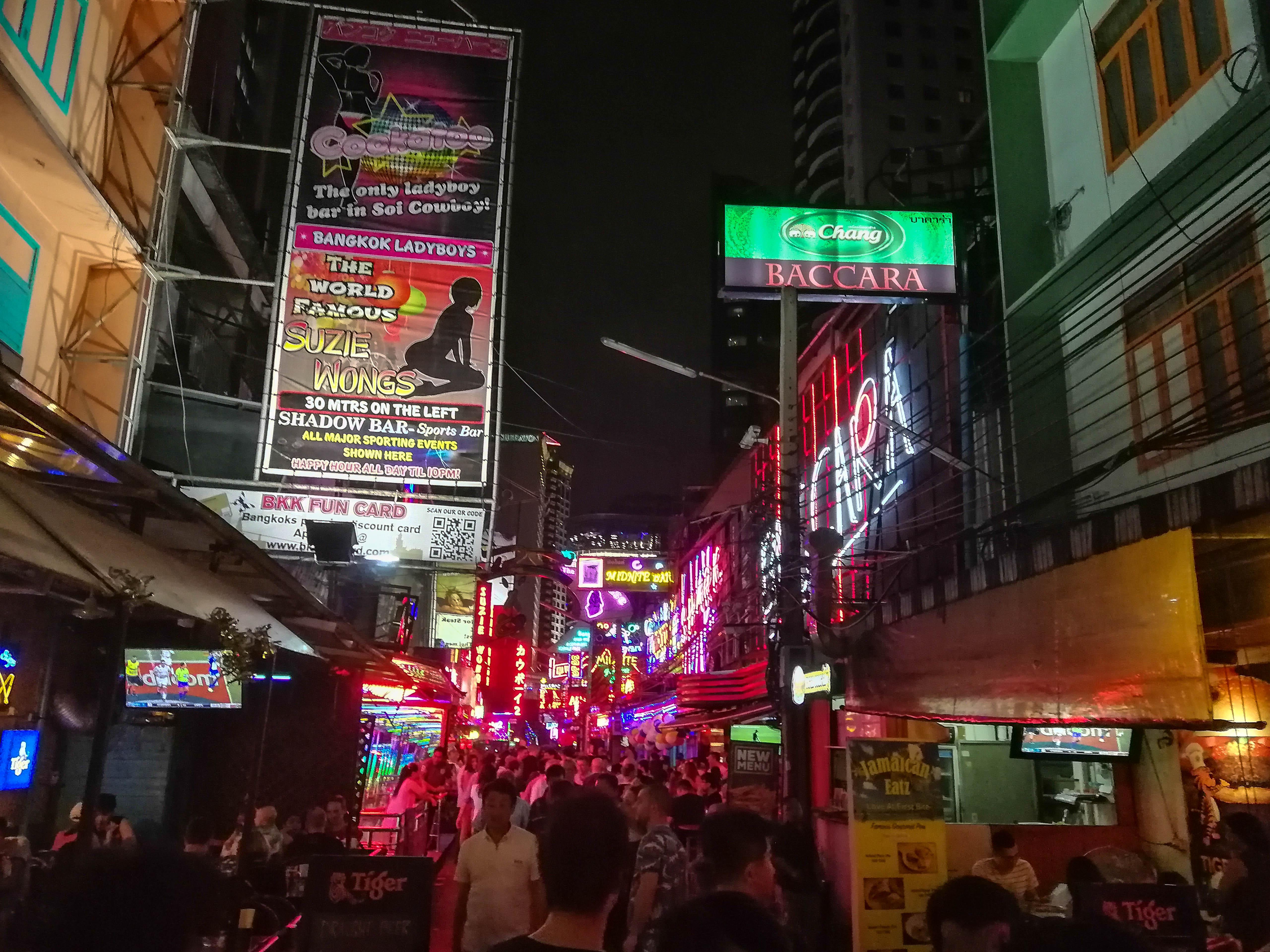 Rotlichtviertel Bangkok