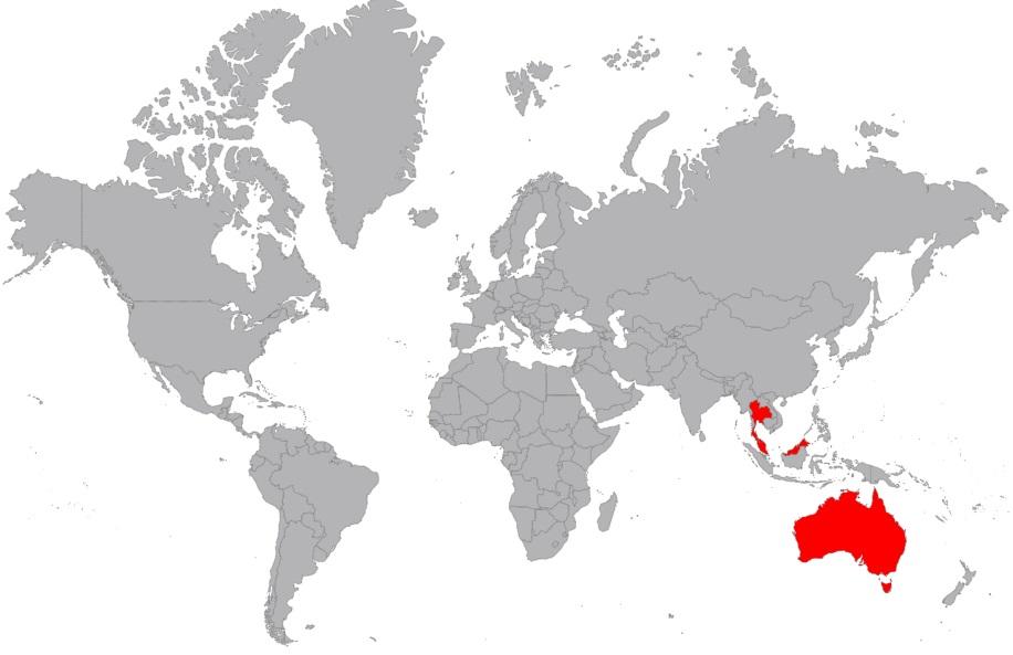 Besuchte Länder