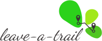 leave-a-trail Logo